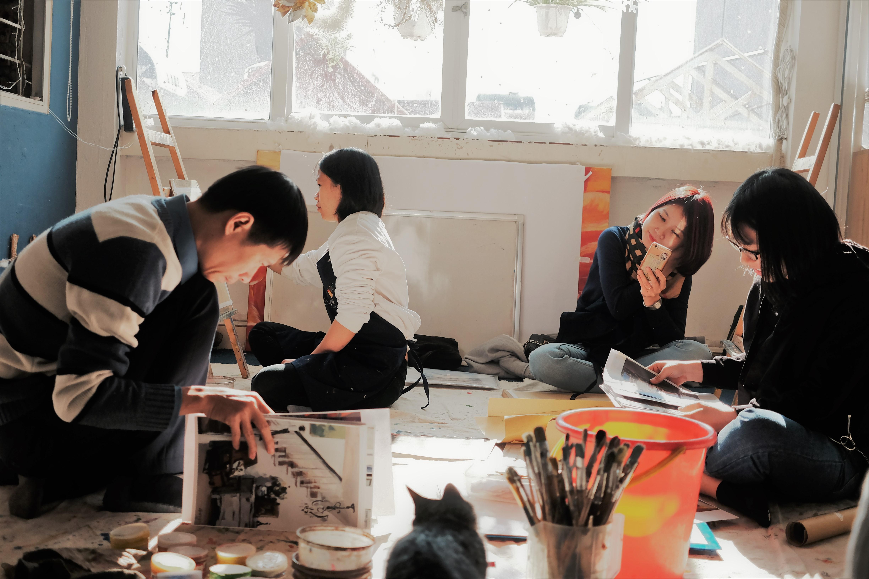 lớp vẽ phong cảnh