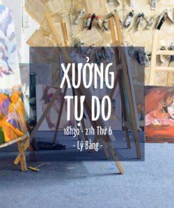Lịch mở cửa Xưởng tự học tại Bụi