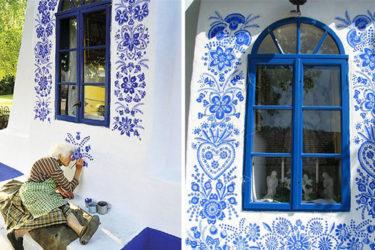 Cụ bà 90 tuổi gây sốt với khả năng vẽ như họa sĩ