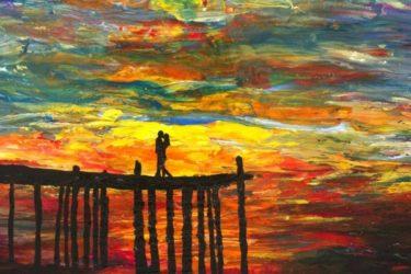 Những bức tranh này do một họa sĩ khiếm thị vẽ, bạn có tin được không?