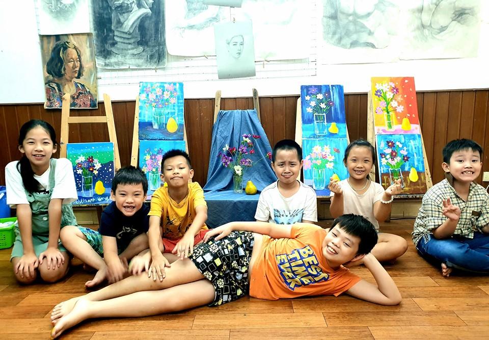 lớp vẽ cho trẻ em