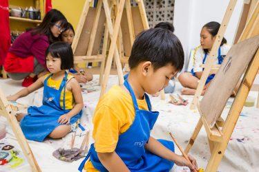 Bụi Nhỏ - Lớp học vẽ cho Trẻ em