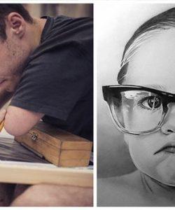 Ngỡ ngàng với tuyệt tác của những họa sĩ khuyết tật đầy nghị lực trên thế giới