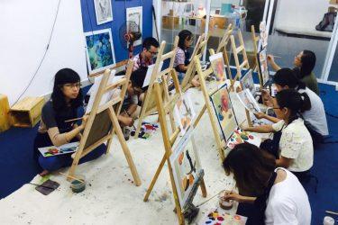 Học vẽ ở đâu tốt tại Hà Nội