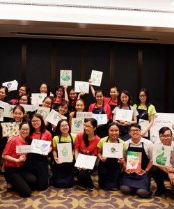 Mỹ thuật Bụi phối hợp với Khách sạn Renaissance Riverside và Sheraton Saigon tổ chức Workshop vẽ tranh vì môi trường