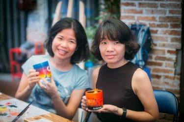 Workshop Vẽ chậu cây góp quỹ trồng 80 cây rừng tại Phú Yên
