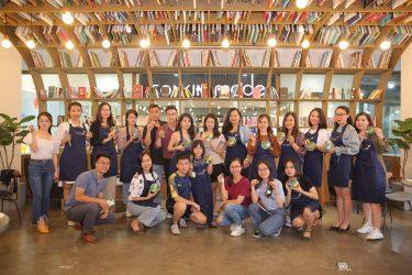 Workshop Vẽ gỗ Chủ đề mùa thu tại Nest By AIA