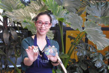 Workshop Vẽ gỗ chủ đề Noel tại Toong Hàm Nghi