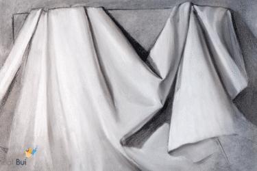 [VIDEO] Hướng dẫn vẽ nếp vải chi tiết