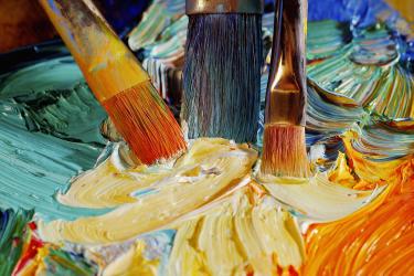Cách phân biệt màu nước, màu bột và sơn dầu