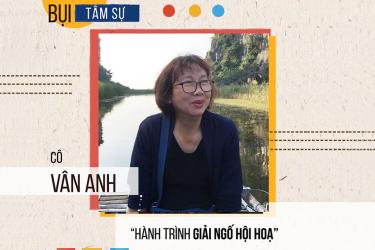 Lắng nghe Bác sĩ Vân Anh chia sẻ hành trình giải ngố hội họa