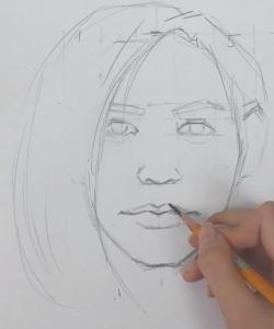 [VIDEO] Học vẽ Chân dung - Hướng dẫn vẽ tỷ lệ mặt người cơ bản