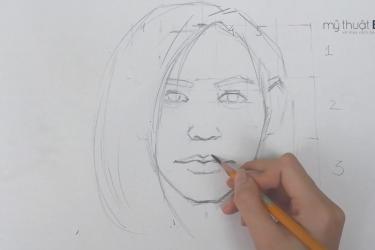 [VIDEO] Hướng dẫn vẽ tỷ lệ mặt người cơ bản