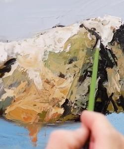 [VIDEO] Học vẽ Sơn dầu - Một số Kỹ thuật cơ bản