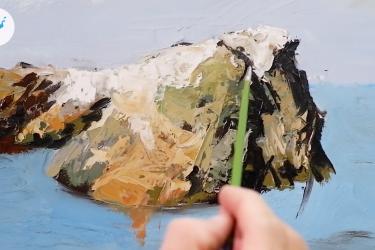 [VIDEO] Một số Kỹ thuật cơ bản trong vẽ Sơn dầu