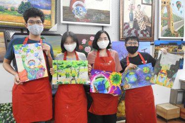 Cùng Bụi nhỏ tham gia cuộc thi vẽ tranh thiếu nhi chủ đề Bảo vệ sức khoẻ mùa Covid