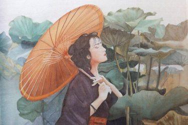 Nét đẹp của nghệ thuật vẽ Tranh Lụa