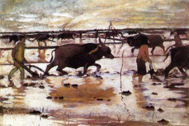 Lịch sử của tranh sơn dầu Việt Nam