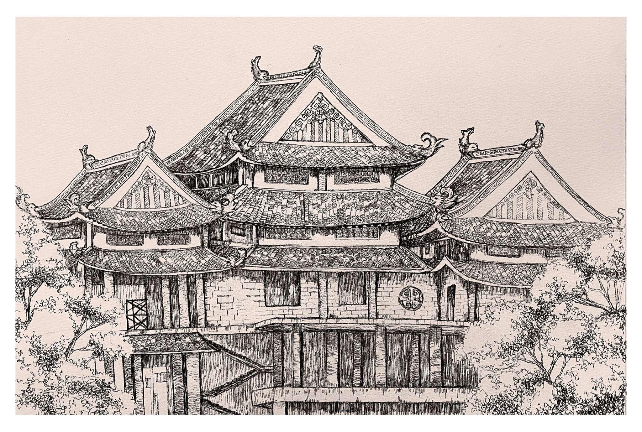 [HCM] Bài tốt nghiệp khóa Ký họa 31 Trần Phú tháng 5