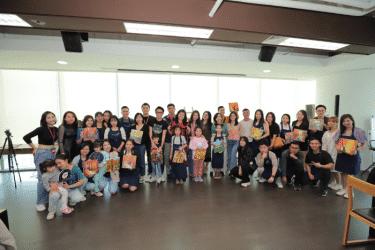 Mỹ Thuật Bụi phối hợp cùng Nest By AIA tổ chức Workshop Vẽ Canvas Mini