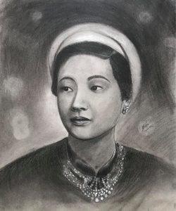[HN] Bài tốt nghiệp chân dung 07 Bà Triệu Tháng 6
